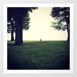 Peaceful Morning on Lake Michigan Art Print