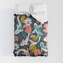 Koi Pond - Pink Comforters