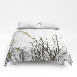 Trees in Black and White Comforters