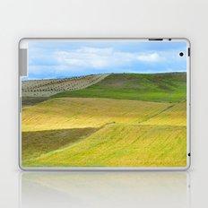 Yellow fields Laptop & iPad Skin