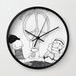 Multi-Cultural Dicks Wall Clock