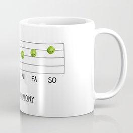 Peas & Harmony Coffee Mug
