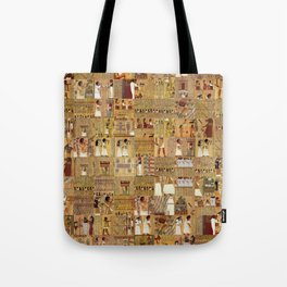 Egyptian Book of the Dead Tote Bag