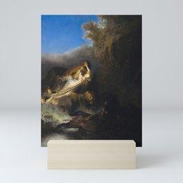 The Rape of Proserpine Mini Art Print