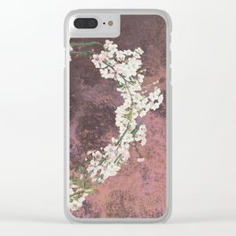 Love every day - dark version Clear iPhone Case
