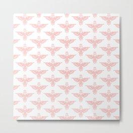 owl pattern 2 Metal Print