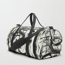 The Witch and Her Sons Duffle Bag
