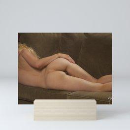 Julie Darling 0853  Boudoir Nude Nue - SurXposed Mini Art Print