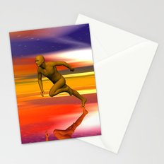 Breaking free. Stationery Cards