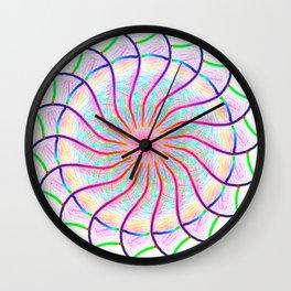 Circle of wings Wall Clock