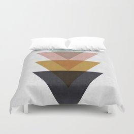 Minimalist Triangles Duvet Cover