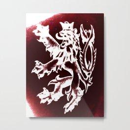 Slovak Metal Print