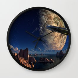 Imaginary  Land 2 Wall Clock