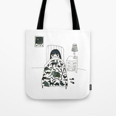 Animal Fear Tote Bag