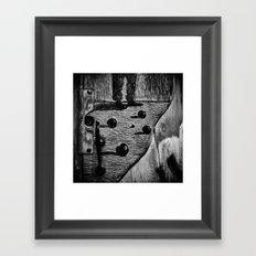 bocche Framed Art Print