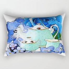 Tea 3 Rectangular Pillow