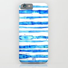 Blue Ink Stains iPhone 6s Slim Case