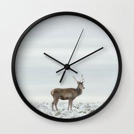 First Snow (49) Wall Clock