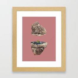 geode 02 Framed Art Print