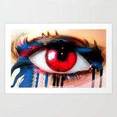 Window Of The Soul - Love Art Print