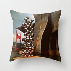 Museo Guggenheim Throw Pillow