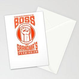 Funny grandma grandmother grandparents gift grandma Stationery Cards