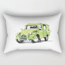 2cv Van Rectangular Pillow