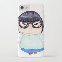 korea iPhone & iPod Cases featuring Korea by amaiaacilu