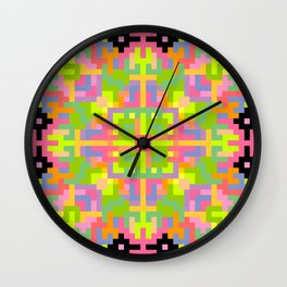 Analogue Flower Wall Clock