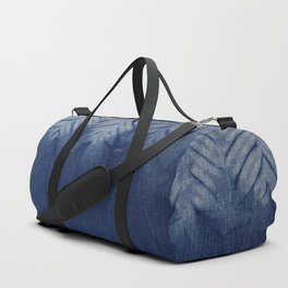 Shibori Chevron Stripe Duffle Bag