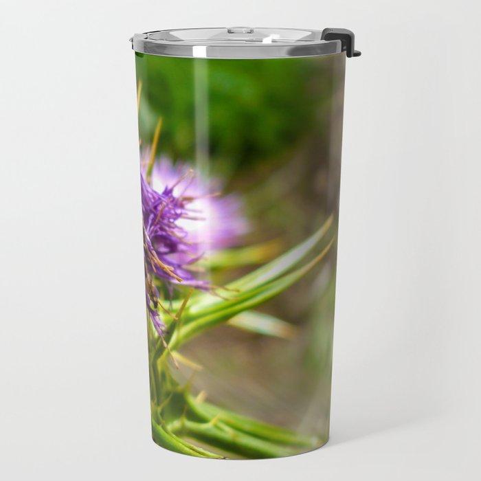 Flower Aechmea Travel Mug