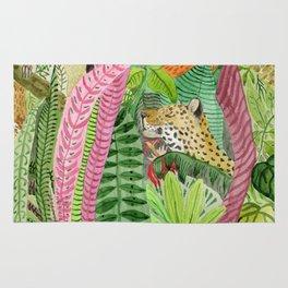 Jungle animals Rug