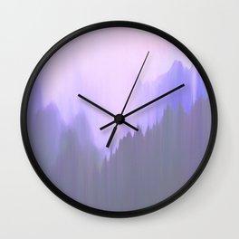 Down on my Mind Wall Clock