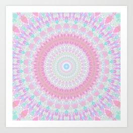 Sparkly Mandala 4 Art Print