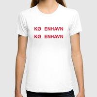 copenhagen T-shirts featuring COPENHAGEN by eyesblau