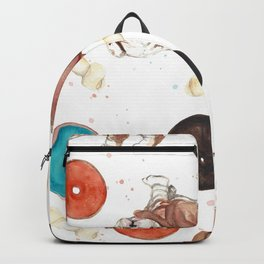 Bulldogs and donuts Backpack