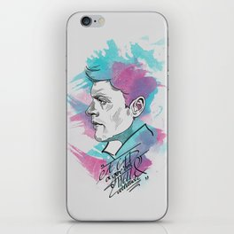 Dean Winchester   a GED and give 'em hell attitude iPhone Skin