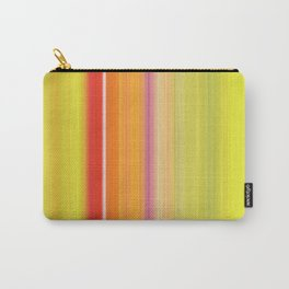 Sablo Lio ~ Orange & Lime Green Carry-All Pouch