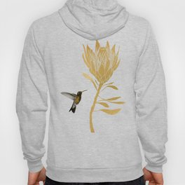 Hummingbird & Flower I Hoody