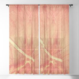 the cup Sheer Curtain