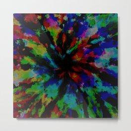 Tie-Dye #7 Metal Print