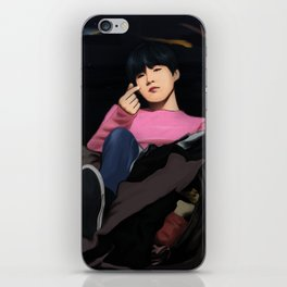 BTS SUGA SPRING DAY FANART iPhone Skin