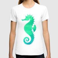 seahorse T-shirts featuring Seahorse by Sara Eshak