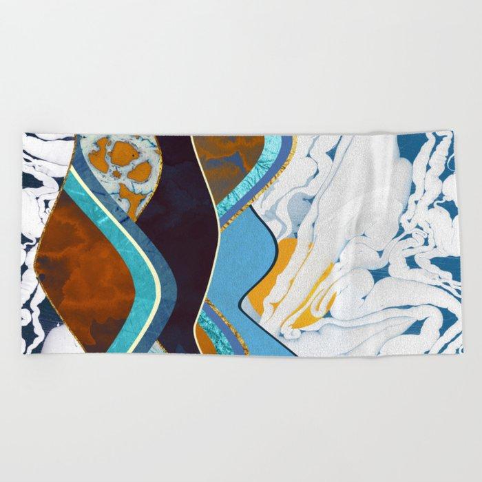 Rolling Hills Beach Towel