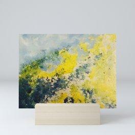 Abstract Mountain Landscape Mini Art Print