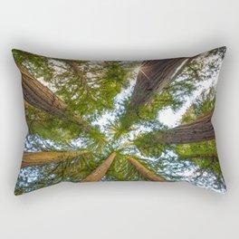 Redwood Forest Canopy Rectangular Pillow