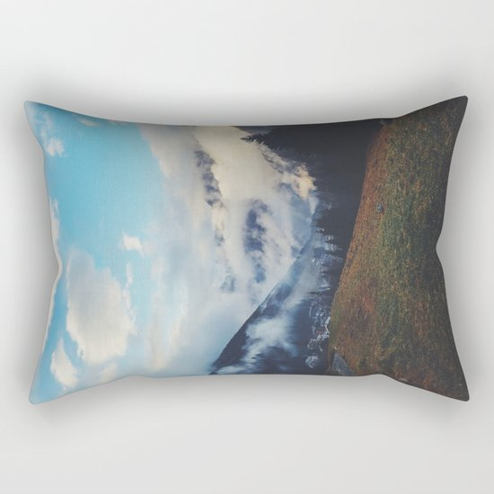 Valley in the spring Rectangular Pillow