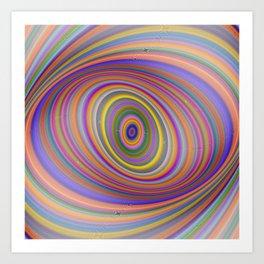 Happy Hypnosis Art Print