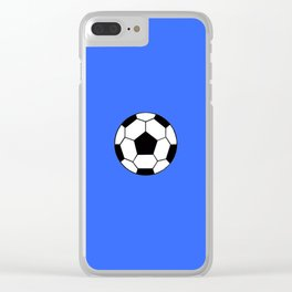 Ballon solitaire Clear iPhone Case