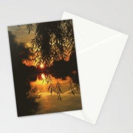 Sunset on Belle Isle Stationery Cards